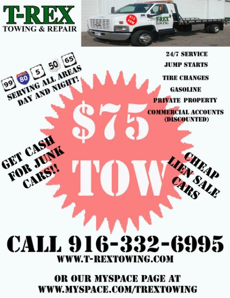 North Highlands auto repair, towing North highlands